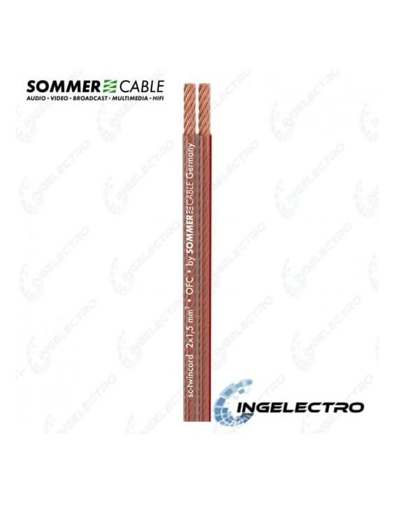 Cable para Parlante por Metros SOMMER SC-TWINCORD 400-0150