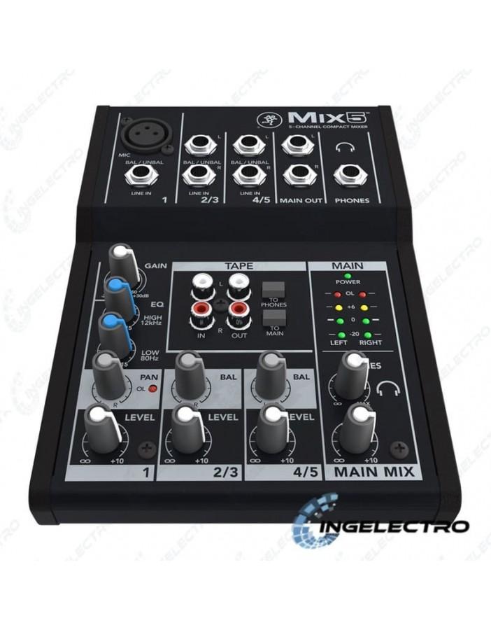 Mezclador Mackie Mix-5