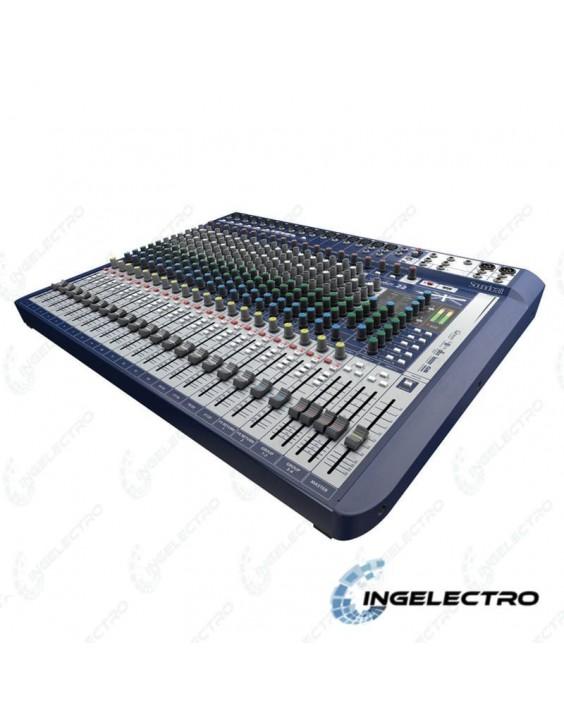 Mezclador Soundcraft Signature 22 con Efectos