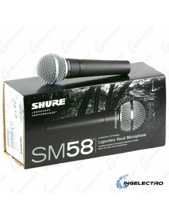 MicrofonoAlambricoVocalShureSM58 LC
