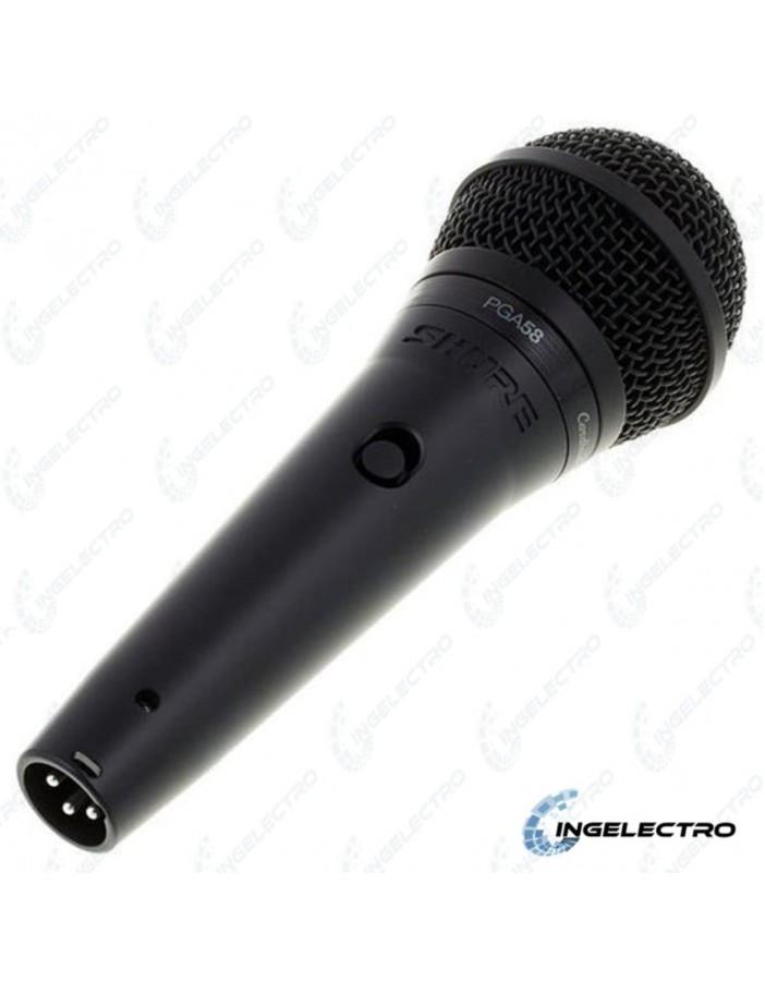 Microfono AlambricoVocal ShurePGA58 XLR