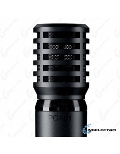 Microfono  Shure PGA81-LC