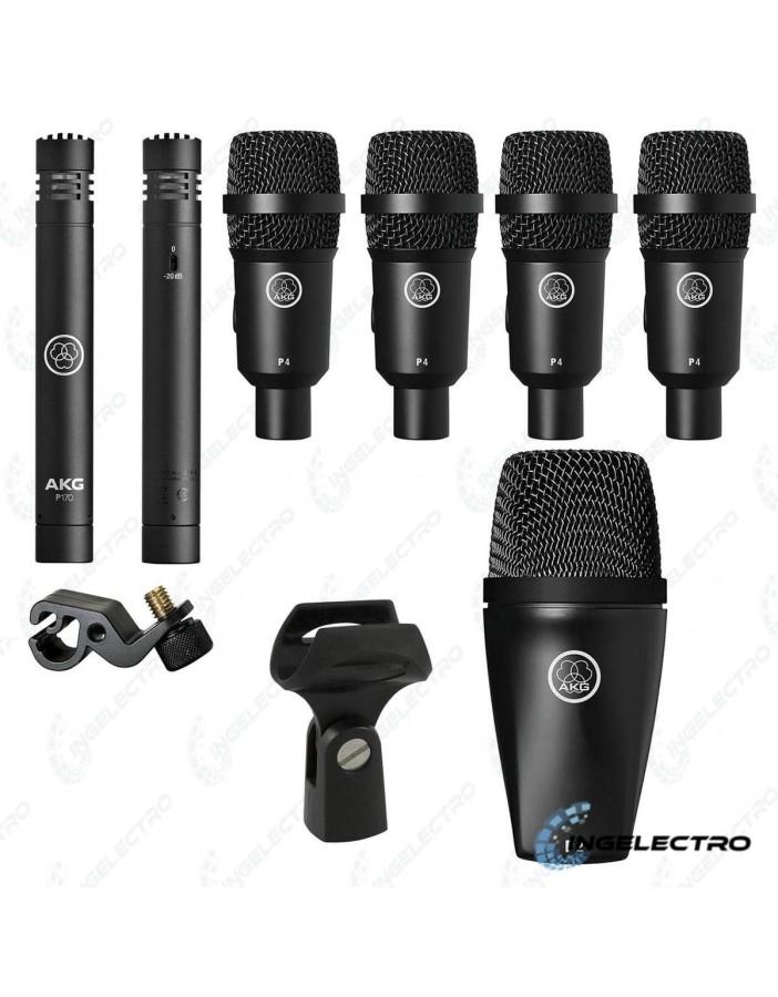 Microfono  AKGDrum Set Session 1