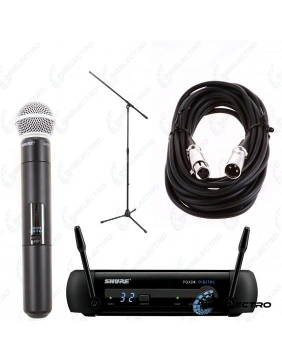 Microfono Inalambrico Vocal ShurePGXD/PG58-X8