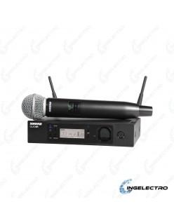 Microfono Inalambrico Vocal ShureQLXD24/B58-Z2
