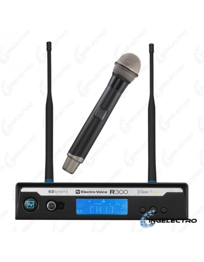 Micrófono Inálambrico Vocal Electrovoice R300HD