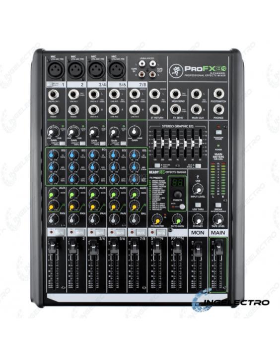 Mezclador Analogo Mackie PRO FX8V2