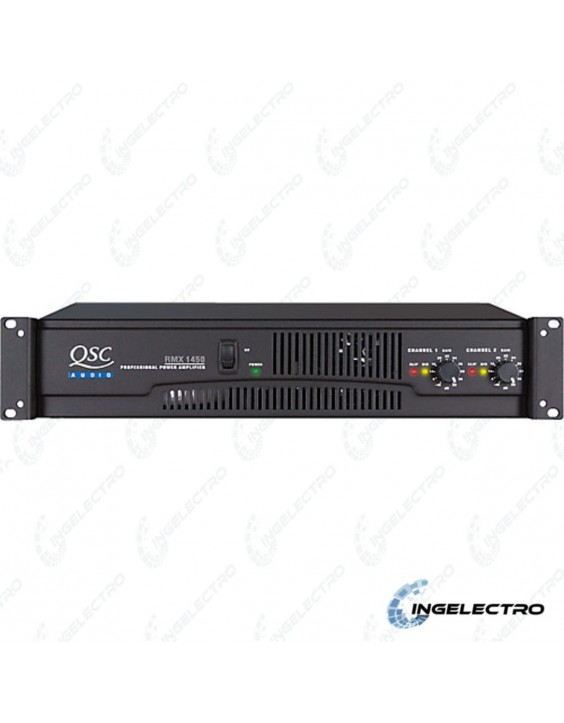 Amplificador de PotenciaAnalogaQSC RMX1450A