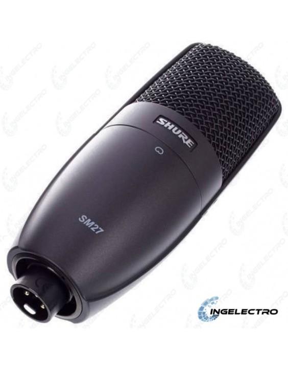 Micrófono Shure SM27 LC